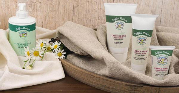 Campioncini gratuiti cosmetici naturali Soffice Natura