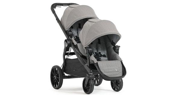 tester del passeggino City Select Lux gemellare di Baby Jogger