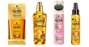 tester dei trattamenti per capelli Gliss Testanera