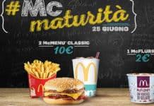 McDonald's #McMaturità