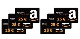vinci buoni Amazon da 25 euro