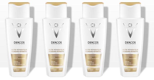 Campioni omaggio Vichy Dercos shampoo crema nutri-riparatore