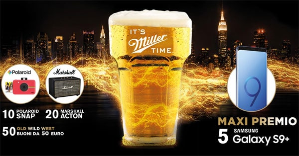 Concorso Old Wild West Live your Miller Time