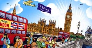Concorso Vinci una vacanza studio nel Regno Unito con Kaplan e Smemoranda
