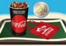 Bibita media a 2 Euro e borsa Coca-Cola in omaggio da McDonald's