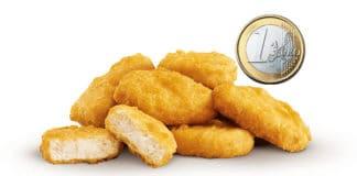 Chicken McNuggets a 1 Euro da McDonald's
