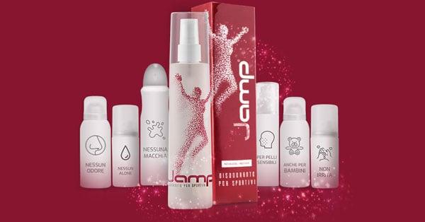 Campione gratuito di Jamp disodorante