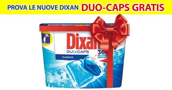 Prova le nuove Dixan Duo-Caps gratis