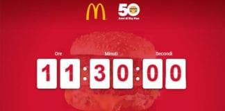 Sopresa in arrivo da McDonald's