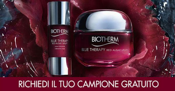 richiedi campione omaggio Biotherm Blu Therapy Red Algae Uplift