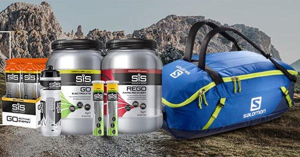 Vinci gratis kit di prodotti Science in Sport e borsone Salomon