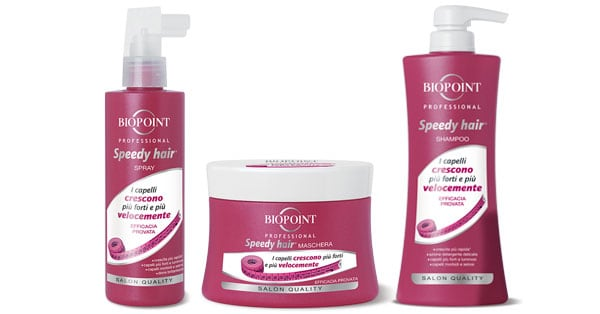 tester Biopoint Speedy Hair