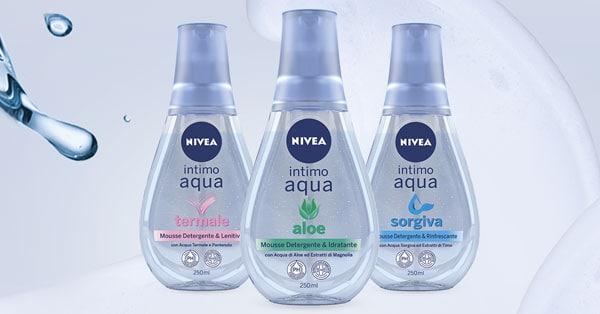 tester Nivea Intimo Aqua