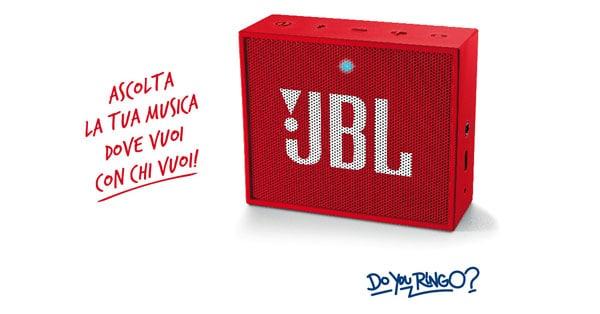 Concorso Ringo ti ragala JBL