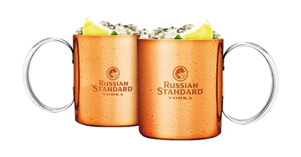 Concorso Russian Standard Vodka regala le Copper Mug