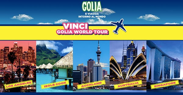 Concorso a premi Golia World Tour