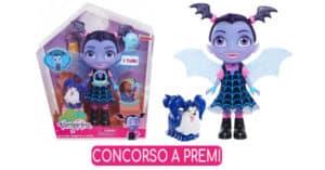 Concorso Radio Italia Vinci gratis una bambola Vampirina