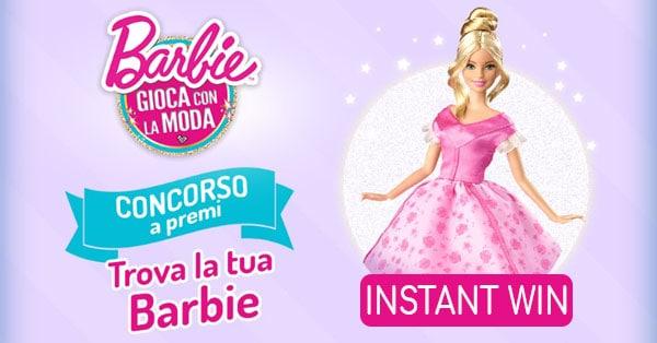 Concorso Trova la tua Barbie