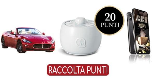 Raccolta punti Parmigiano Reggiano Premi Pregiati