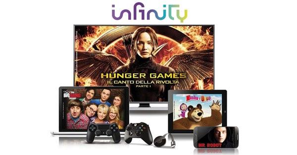 Diventa tester Infinity TV