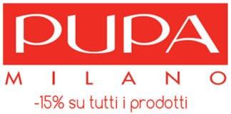 Codice Sconto Pupa Milano Novembre 2018 su tutti i prodotti