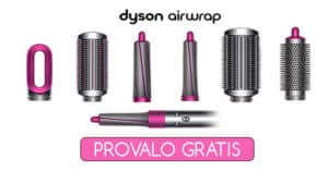 Progetto tester Dyson Airwrap Glamour