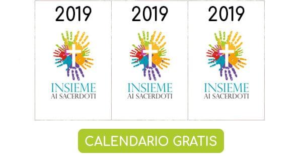 Calendario Insieme ai Sacerdoti 2019