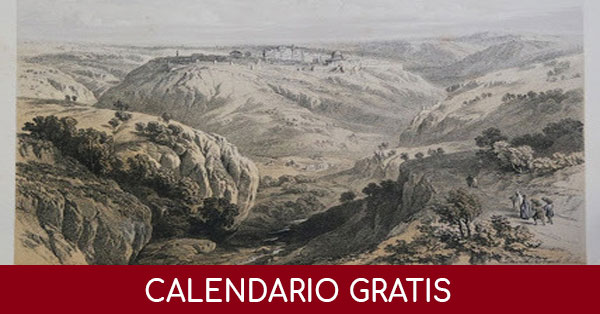 Ricevi gratis il calendario pro Terra Sancta