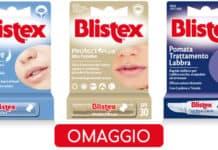 Trattamento labbra Blistex omaggio in edicola