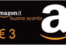 Buono Amazon 3 Euro