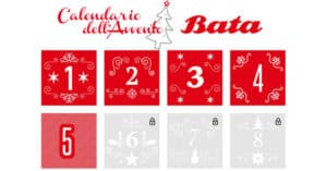 Calendario dell'Avvento Bata