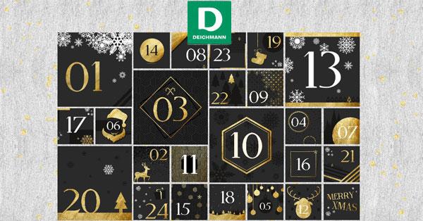 Calendario dell'Avvento Deichmann