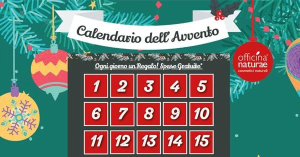 Calendario dell'Avvento Officina Naturae