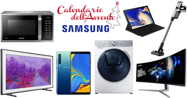 Calendario dell'Avvento Samsung Members