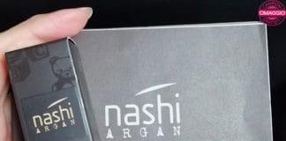 campione omaggio profumo per capelli Nashi Argan Love
