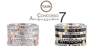 Diventa TUUM Ambassador e ricevi gratis un anello Settedoni