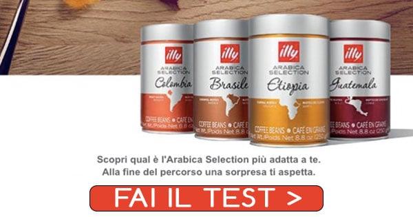 illy test arabica