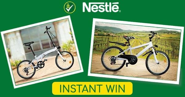 Concorso Vinci una bici con Nestlé Cereali