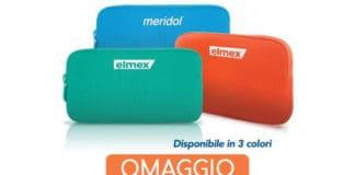 Astuccio Tucano in omaggio con Elmex e Meridol