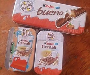 box kinder bueno pausa snack di Tania