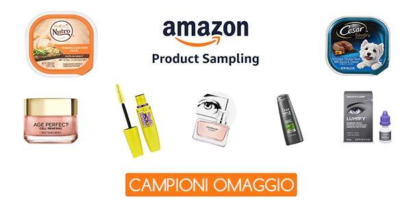 Campioni omaggio da Amazon