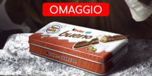 Kinder Bueno Pausa Snack in omaggio