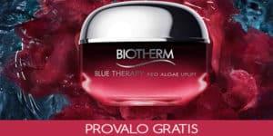 Progetto tester Biotherm Red Algae Uplift su TRND