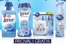 Prova gratis il tuo profumo Lenor preferito