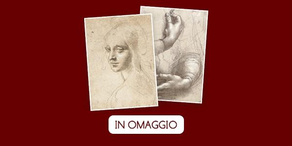 Due stampe di Leonardo Da Vinci in omaggio