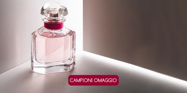 Campioni omaggio del profumo Mon Guerlain Bloom of Rose
