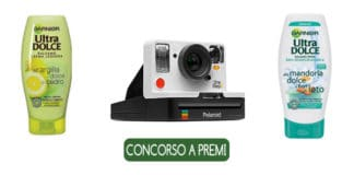 vinci Polaroid one step 2 con Garnier Ultra Dolce