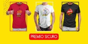 premio sicuro t-shirt in-fame fonzies