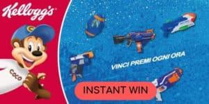 concorso instant win kelloggs vinci nerf