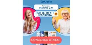 concorso leocrema mamme 2.0 su facebook